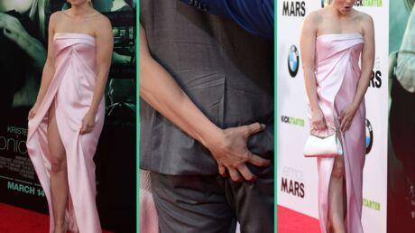 Kristen Bell: pelotage de fesses et robe coquine à l'avant-première de Veronica Mars