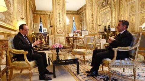 Le jour où François Hollande a humilié Nicolas Sarkozy en visite à l'Elysée