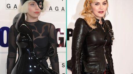 Madonna ne l'aime pas? Lady Gaga s'en fiche royalement