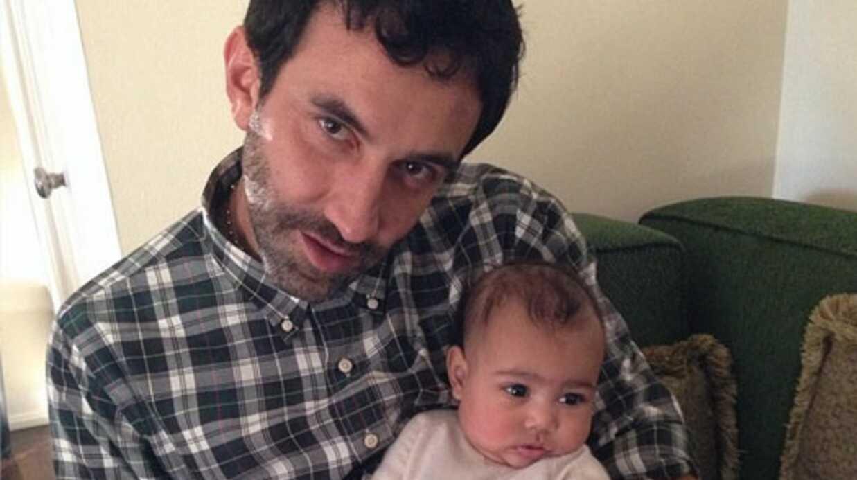 Kim Kardashian partage de nouvelles photos de sa fille