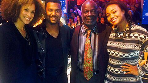 Les acteurs du Prince de Bel-Air réunis autour d'Alfonso Ribeiro, alias Carlton