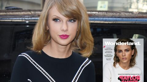 PHOTO Taylor Swift méconnaissable en une d'un magazine anglais