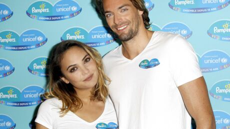 PHOTOS Camille Lacourt et Valérie Bègue en amoureux pour soutenir l'Unicef