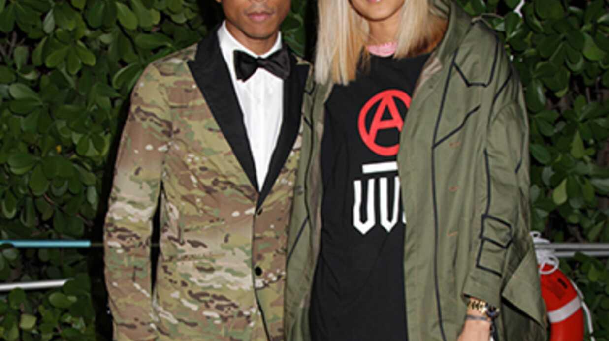 Usher et Busta Rhymes chantent au mariage de Pharrell Williams