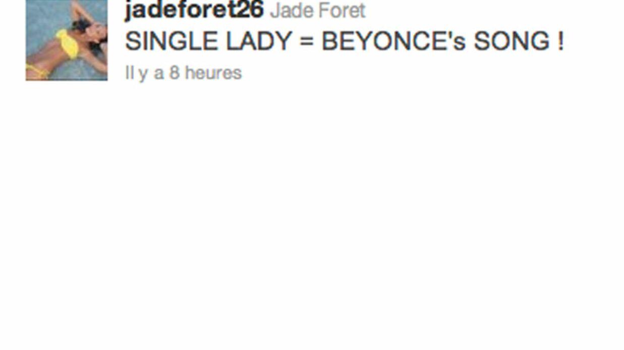 Lagardère: Jade Foret affole Twitter avec son célibat