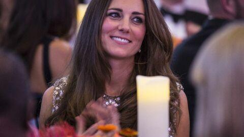 DIAPO Kate Middleton sublime pour sa première soirée depuis la naissance de George