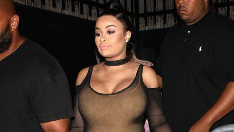 PHOTOS Blac Chyna: enceinte, elle sort en boîte dans une robe transparente de Kim Kardashian