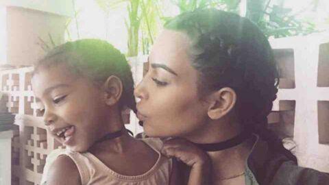 Kim Kardashian révèle que sa fille North fait ses propres fringues et se fait clasher