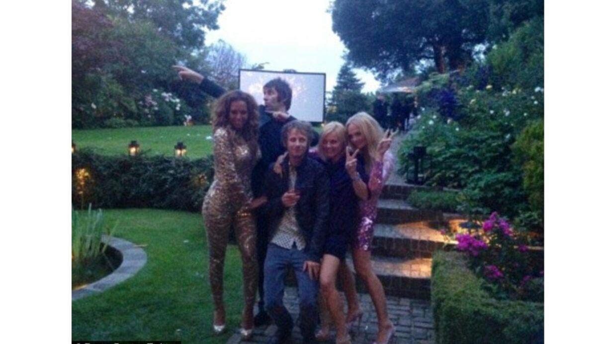 PHOTOS Les images de la folle soirée des Spice Girls (sans Victoria)