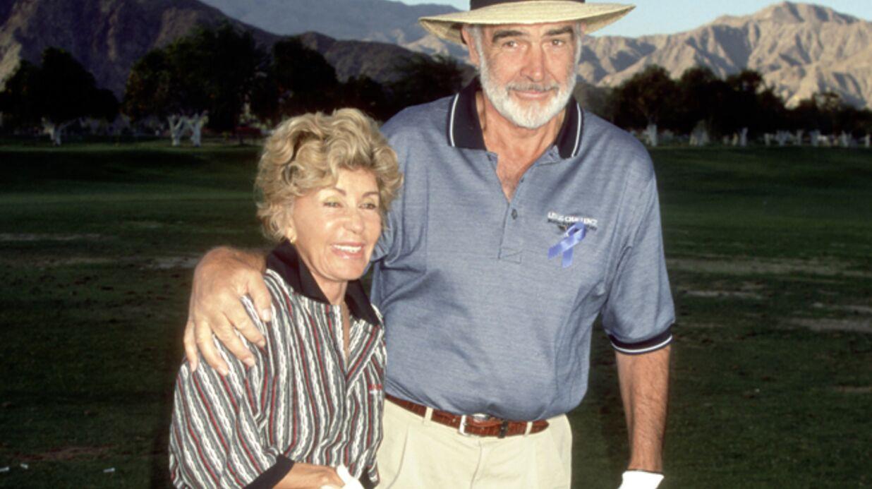 La femme de Sean Connery raconte leur rencontre et leur première nuit