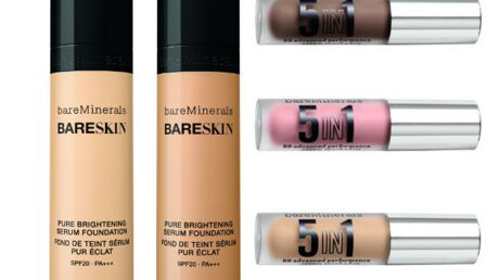 bareMinerals met ses pigments minéraux en flacon