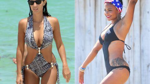 DIAPO Une-pièce ou trikini: les stars adorent leurs maillots de bain sexy!