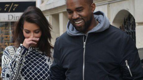 PHOTOS Kim Kardashian et Kanye West à Paris en pleins préparatifs de mariage