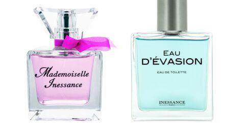 Les nouveaux parfums Inessance: Mademoiselle Inessance et Eau d'évasion
