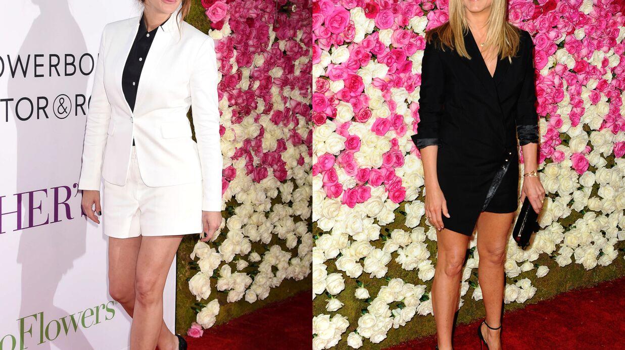 PHOTOS Julia Roberts et Jennifer Aniston exhibent leurs jolies jambes, Ashley Tisdale en montre trop