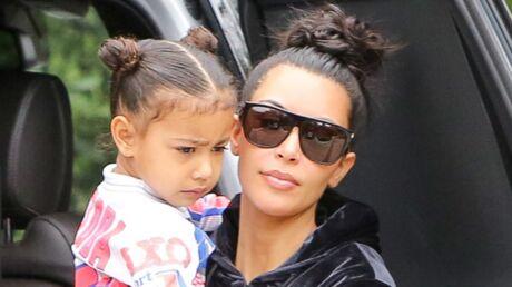PHOTO Kim Kardashian poste un selfie d'elle avec sa fille North et c'est trop mignon!