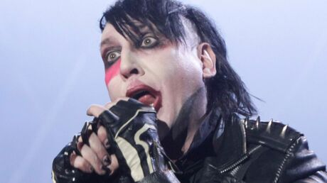 PHOTO Marilyn Manson: terrible blessure à cause d'une table