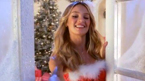 VIDEO Les anges de Victoria's Secret chantent (mal) pour les fêtes