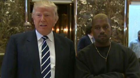 Visite de Kanye West à Donald Trump: le rappeur révèle ce qu'ils se sont dit