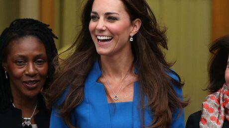 PHOTOS Kate Middleton rayonnante en bleu pour inaugurer un projet artistique