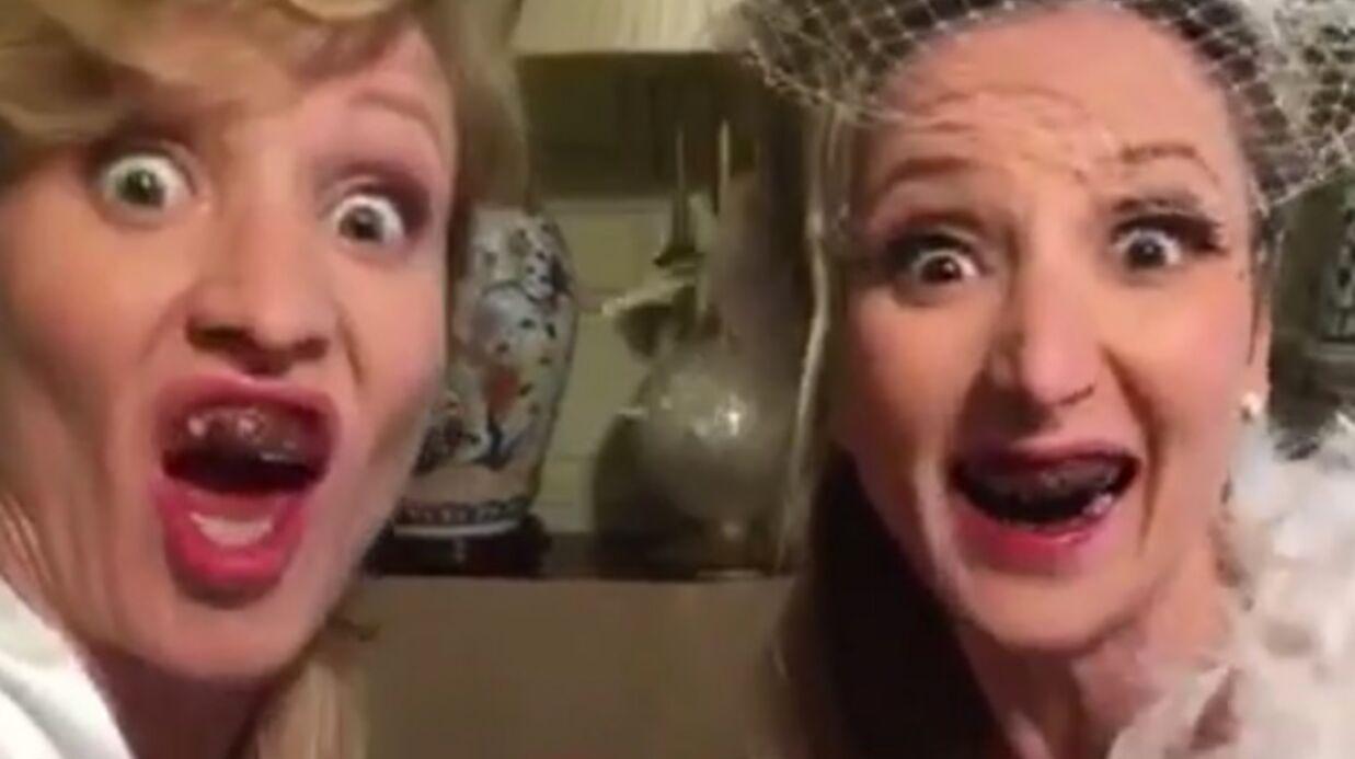 VIDEO Les vœux peu ragoûtants d'Alexandra et Audrey Lamy pour la Saint-Valentin