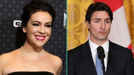 Alyssa Milano craque devant Justin Trudeau: elle se met en scène et c'est drôle