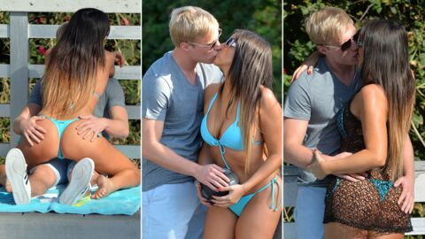 PHOTOS Claudia Romani de Secret Story montre ses fesses (et son nouveau mec) à Miami