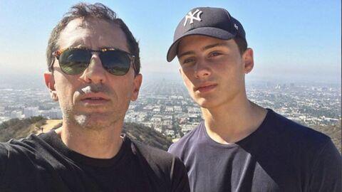 PHOTOS Gad Elmaleh: son fils Noé défile pour la première fois, et aux côtés de Bella Hadid