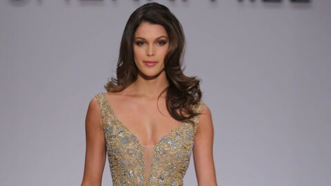 PHOTOS Iris Mittenaere : notre Miss Univers star de la fashion week, elle défile pour Sherri Hill
