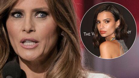 Melania Trump insultée: elle remercie Emily Ratajkowski de l'avoir défendue