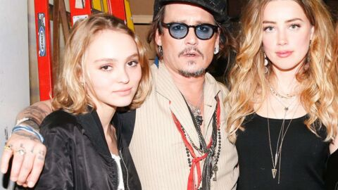 DIAPO Lilly-Rose avec sa belle mère Amber Heard pour applaudir Johnny Depp
