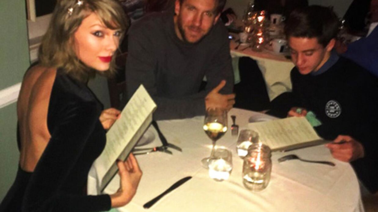 PHOTO Un ado s'incruste à la table de Taylor Swift et Calvin Harris lors d'un dîner en amoureux