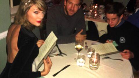 PHOTO Un ado s'incruste à la table de Taylor Swift et Calvin Harris lors d'un dîner en amoureux