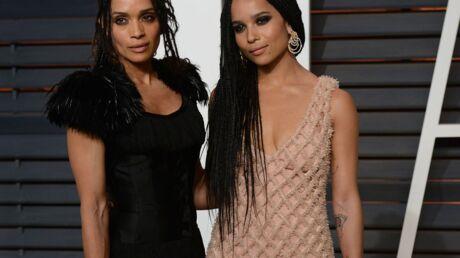 PHOTO Zoe Kravitz pose avec sa mère, Lisa Bonet, pour la nouvelle campagne Calvin Klein