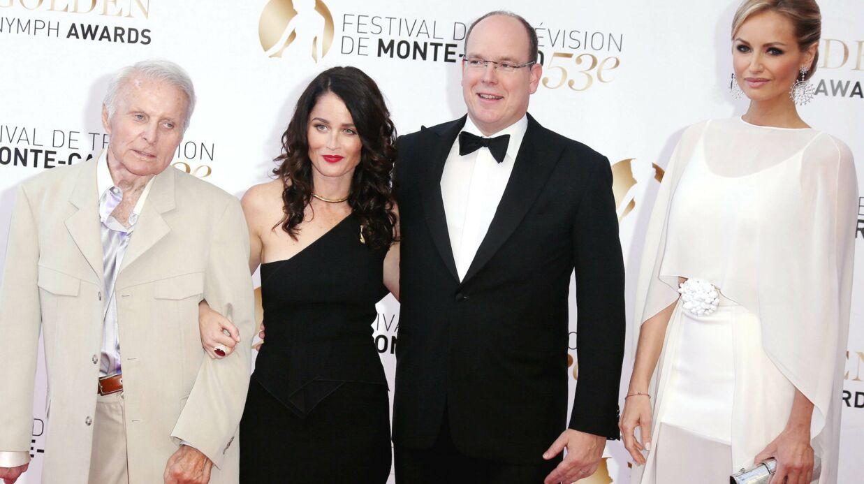 DIAPO Albert de Monaco bien entouré pour la clôture du festival de Monte-Carlo