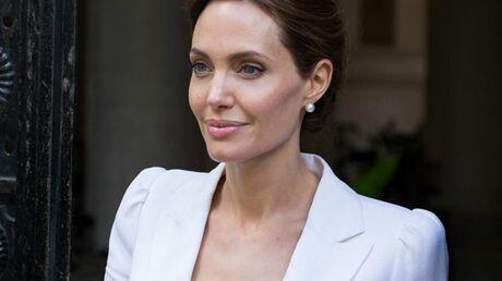 Angelina Jolie a été distinguée par la reine d'Angleterre