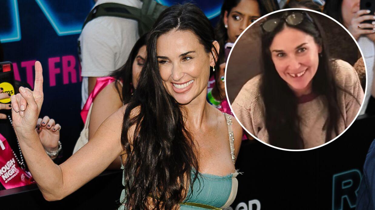 Demi Moore révèle qu'elle a perdu ses deux dents de devant à cause du «stress»