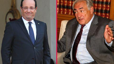 DSK croise François Hollande et ironise sur son style de femmes