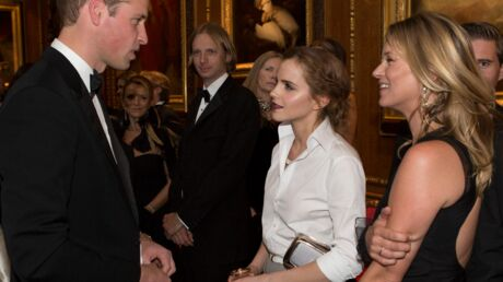 PHOTOS Kate Moss et Emma Watson sous le charme du prince William