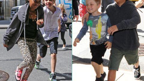 PHOTOS Découvrez ce qui rend les enfants d'Angelina Jolie aussi heureux