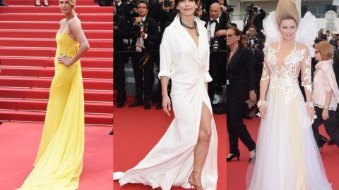DIAPO Cannes 2015: Charlize Theron et Sophie Marceau classes et sexy sur le tapis rouge