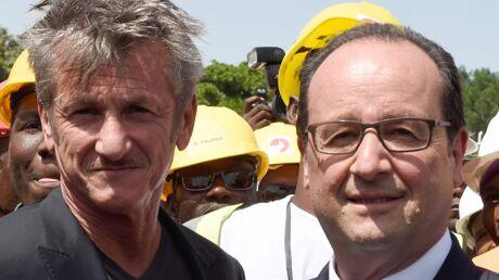 François Hollande a invité Sean Penn dans l'avion présidentiel