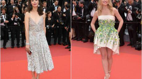 PHOTOS Cannes 2016: le décolleté chic de Bérénice Bejo et la robe courte de Mélanie Thierry pour «le BGG» de Steven Spielberg