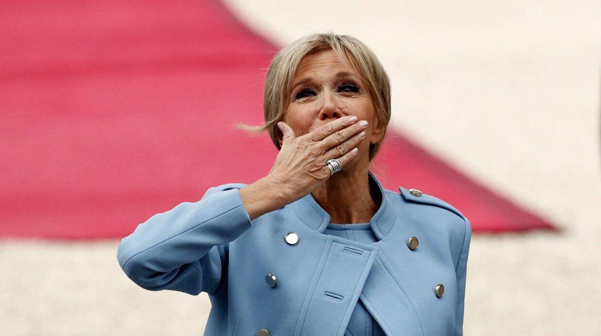 PHOTOS Brigitte Macron: ses premiers pas réussis à l'Elysée