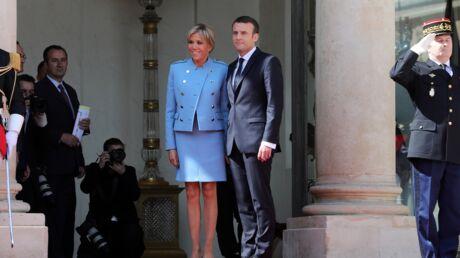 PHOTOS Emmanuel Macron à l'Elysée: une investiture en famille