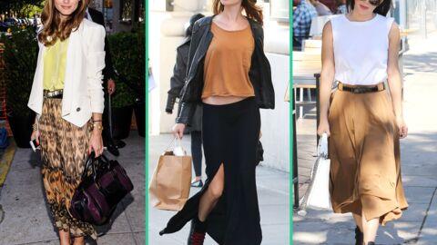 Tendance: la jupe longue
