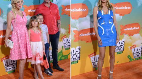 PHOTOS Tori Spelling en famille, Heidi Klum très court vêtue aux Kids' Choice Awards