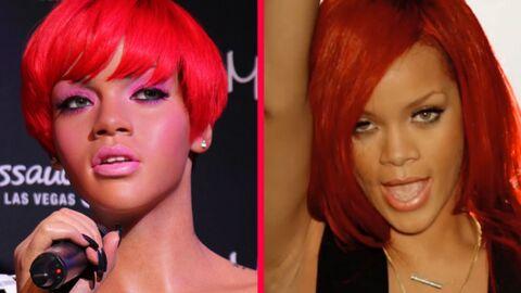 DIAPO Rihanna a deux statues de cire chez Madame Tussauds