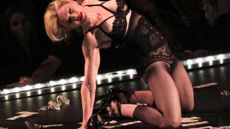 Madonna fait un strip-tease pour les victimes de Sandy