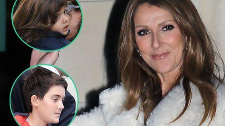 DIAPO Céline Dion à Paris: ses enfants ont bien poussé!